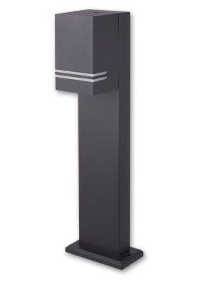 Lampada da terra per esterni VP-EL LENA Black 50 cm