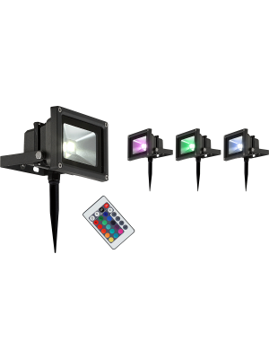 Faretto a LED per esterno RADIATOR , Globo 34118s RGB