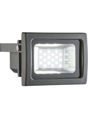 10W Faretto a LED per esterno RADIATOR III alluminio grigio, vetro Globo 34234