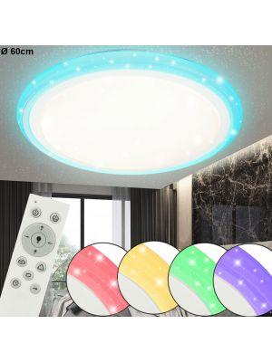 LED Lampada da soffitto Globo RUDI 48378-40RGB