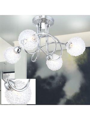 Lampada a LED da soffitto ORINA Globo 56624-4D
