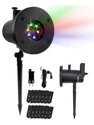 Lampada / proiettore decorativo a led 9578 + 12 diapositive