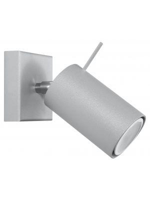 Lampada SPOT da parete/soffitto Sol Rona-1 grigio
