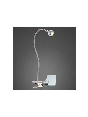 LED Luce SERPENT opaco nichel, opacoo, cromo Globo 24109K