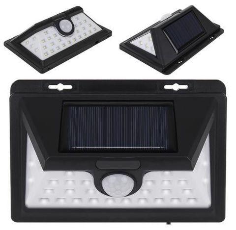 Faretto a LED solare con sensore Maxi SOLAR 10W 32 LED
