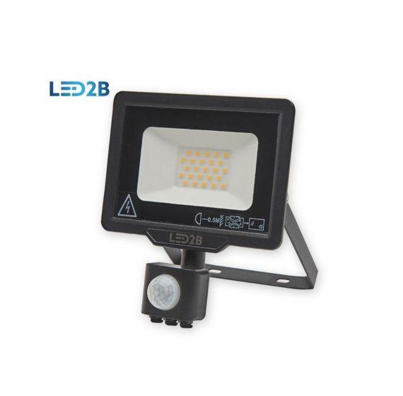 LED Riflettore da esterno con sensore K-Light Led2B MHC 20W - 1600 lm/4000K