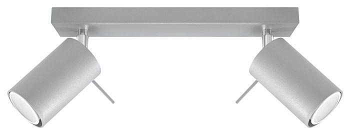 Lampada SPOT da parete/soffitto Sol Rona-2 grigio
