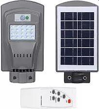 Faretto a LED solare con telecomando VP-EL 20W / 6000K IP65