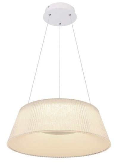 Lampada a sospensione a LED Globo CROTONE 48801CH-45