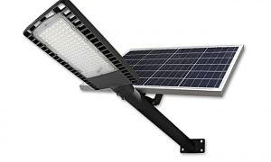 Faretto a LED solare con telecomando VP-EL 120W / 6000K IP65