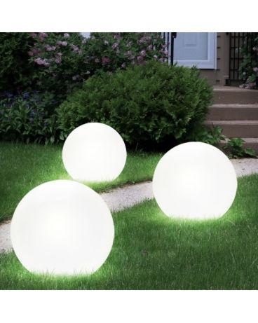 LED Lampada a energia solare VP-EL RGB 30cm White
