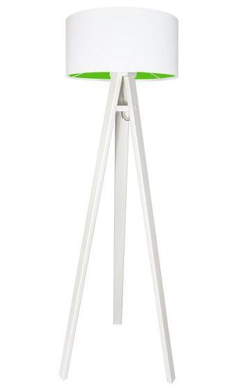 Lampada da terra Lily green - white