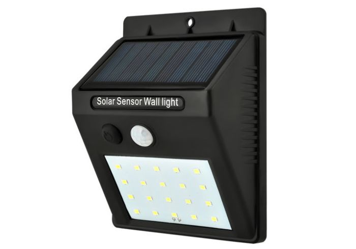 Faretto a LED solare con sensore Maxi SOLAR 2