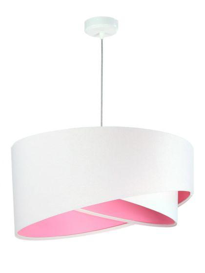 Lampada a sospensione BP-Light Galaxy Aja White/Pink