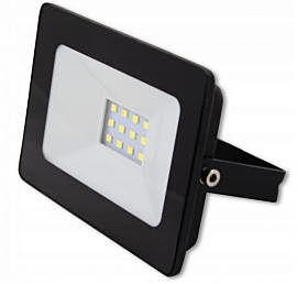 Riflettore a LED VP-EL VEGAS 10W - 4500K Black