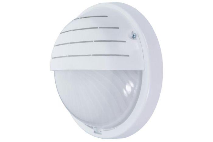 Lampada da parete a LED con sensore PIR GEMA 16W bianco - latteo