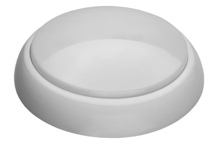 Lampada da soffitto / parete a LED KEIKO XL 12W bianco - latteo