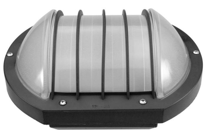 Lampada da soffitto / parete / angolare a LED OLIO 9W nero - latteo