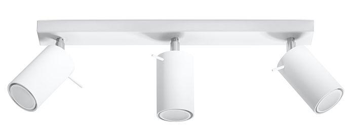 Lampada SPOT da parete/soffitto Sol Rona-3 bianco
