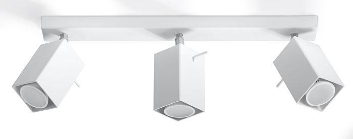 Lampada SPOT da parete/soffitto Sol Ronald-3 bianco