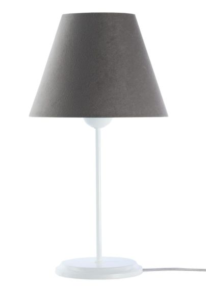 Lampada da tavolo BP-Light Satin Grey/white