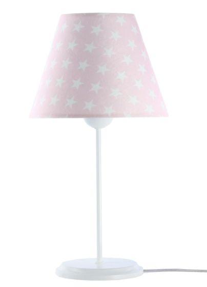 Lampada da tavolo BP-Light Daja Pink/white