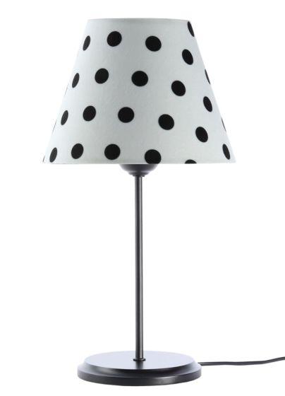 Lampada da tavolo BP-Light Polka Multi/dots/black