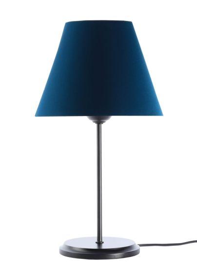 Lampada da tavolo BP-Light Satin Navy blue/black