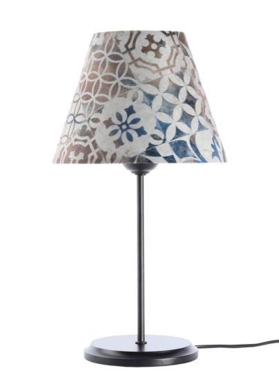 Lampada da tavolo BP-Light Adelina Multi/black