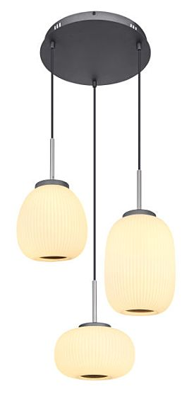 Lampada a sospensione a LED Globo BOOMER 15437H3