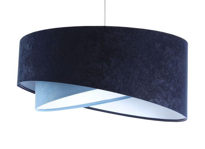 Lampada a sospensione BP-Light Galaxy Dark-light blue/white