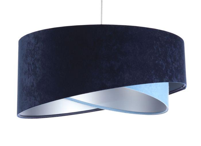 Lampada a sospensione BP-Light Galaxy Dark-light blue/silver