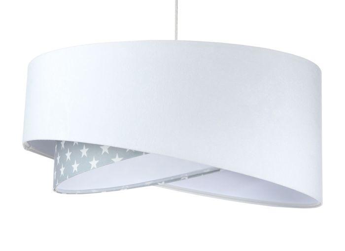 Lampada a sospensione BP-Light Galaxy Stars white/grey