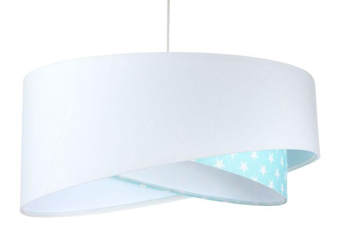 Lampada a sospensione BP-Light Galaxy Stars white/mint