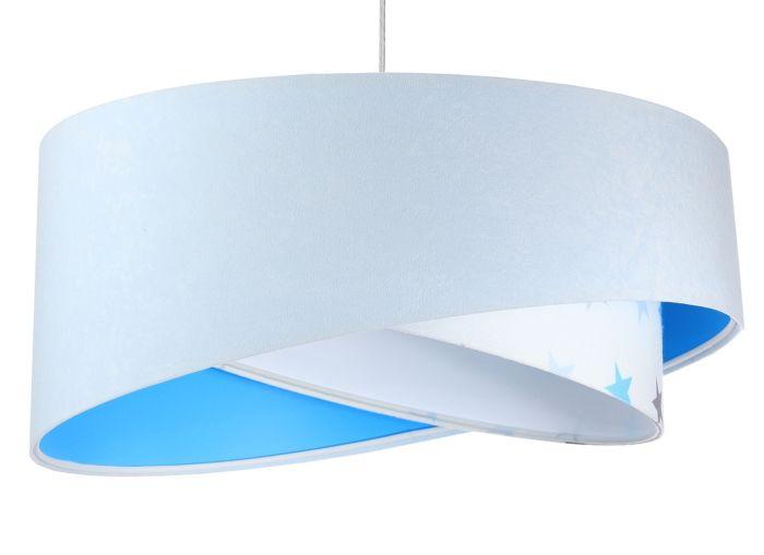 Lampada a sospensione BP-Light Galaxy White/blue/multicolor stars